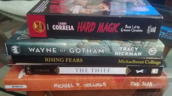 Books bought at LTUE